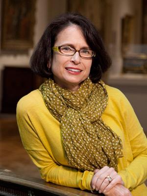 Portrait of Friends President Pam Friedland