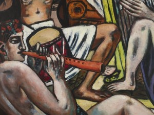 Blind Man's Buff, Blinde Kuh, (detail) Max Beckmann, Gift of Mr. and Mrs. Donald Winston.