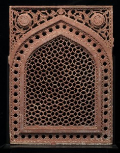 Jali with pointed arch frame, India, The Katherine Kittredge McMillan Memorial Fund