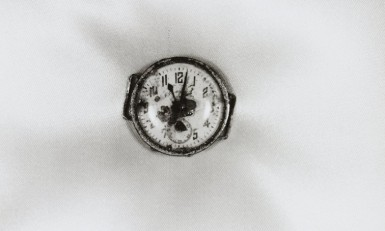 Atomic Bomb Damage: Wristwatch Stopped at 11:02, August 9, 1945, Nagasaki