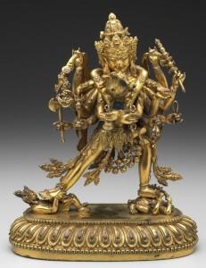 Chakrasamvara Embracing Vajravarahi, Tibet, 1403-1424 Collection Minneapolis Institute of Arts; Gift of Ruth and Bruce Dayton