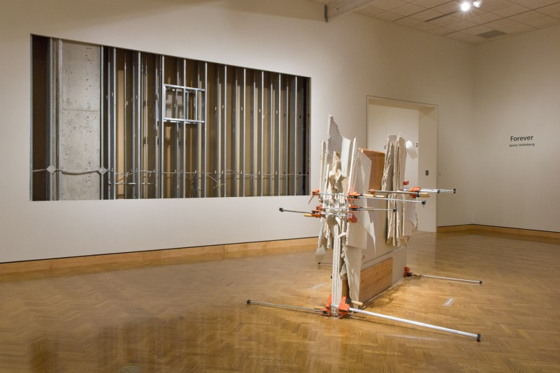 James Holmberg, Residue and Inside, site-specific installations, 2014