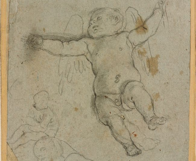 Study for a Putti