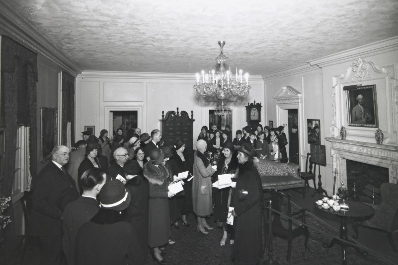 Opening of the Bell Period Rooms